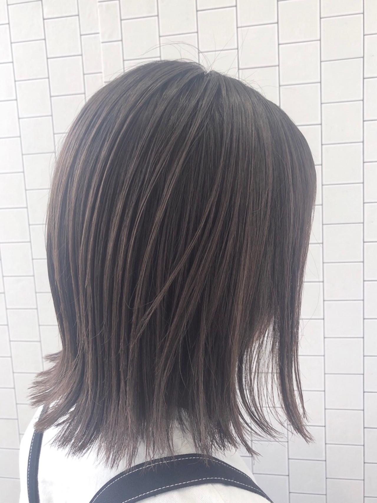 ボブ ブリーチカラー 透明感カラー イルミナカラー ヘアスタイルや髪型の写真・画像