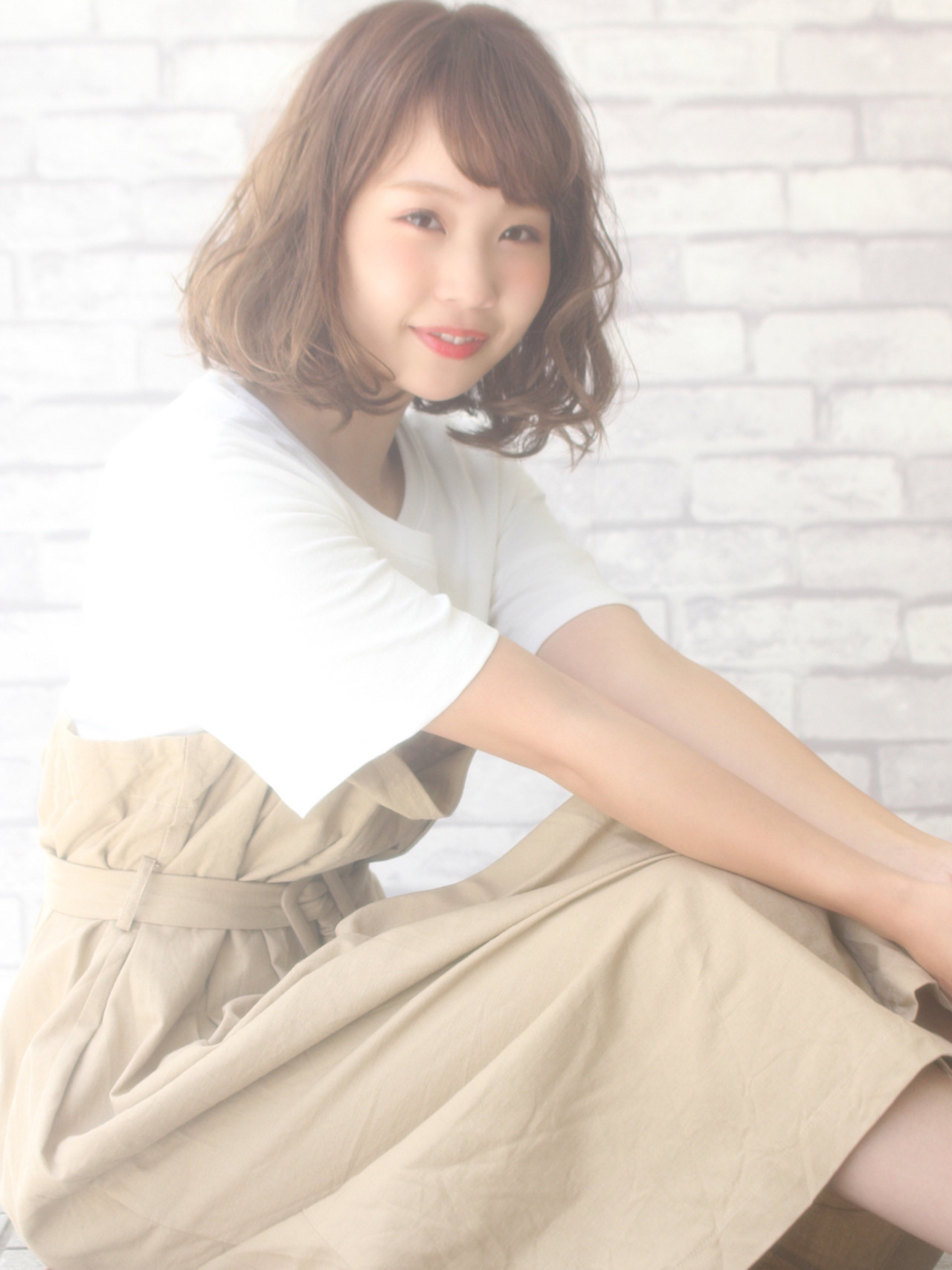 アンニュイ ナチュラル 色気 小顔 ヘアスタイルや髪型の写真・画像 | 山下 拓也 / パースィート 目黒