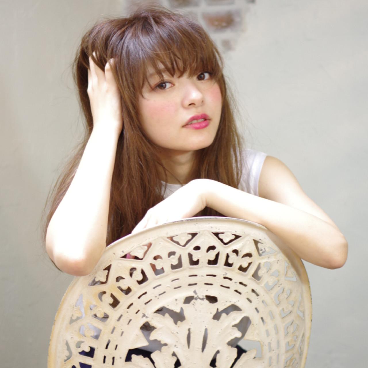 ロング かっこいい 外国人風 アッシュ ヘアスタイルや髪型の写真・画像