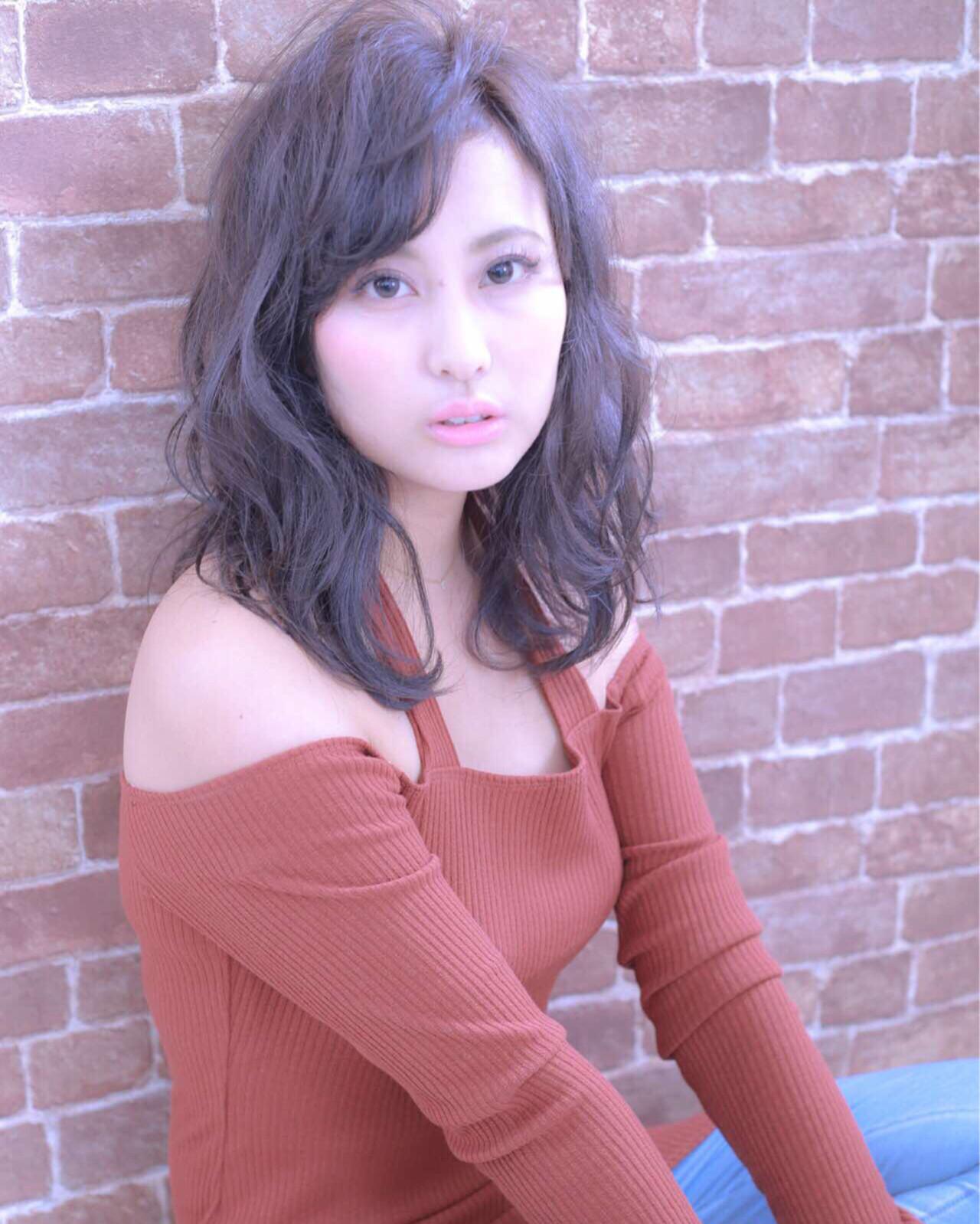 外国人風 ピュア 大人かわいい 抜け感 ヘアスタイルや髪型の写真・画像