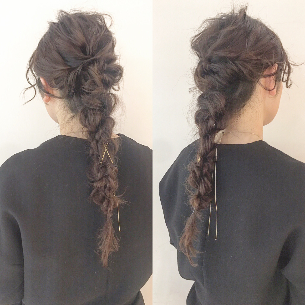 ヘアアレンジ 大人女子 ロング 小顔 ヘアスタイルや髪型の写真・画像