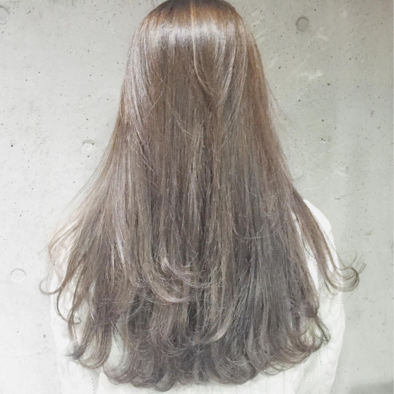 ロング ハイライト ローライト 愛され ヘアスタイルや髪型の写真・画像   兼井 遼 / wille