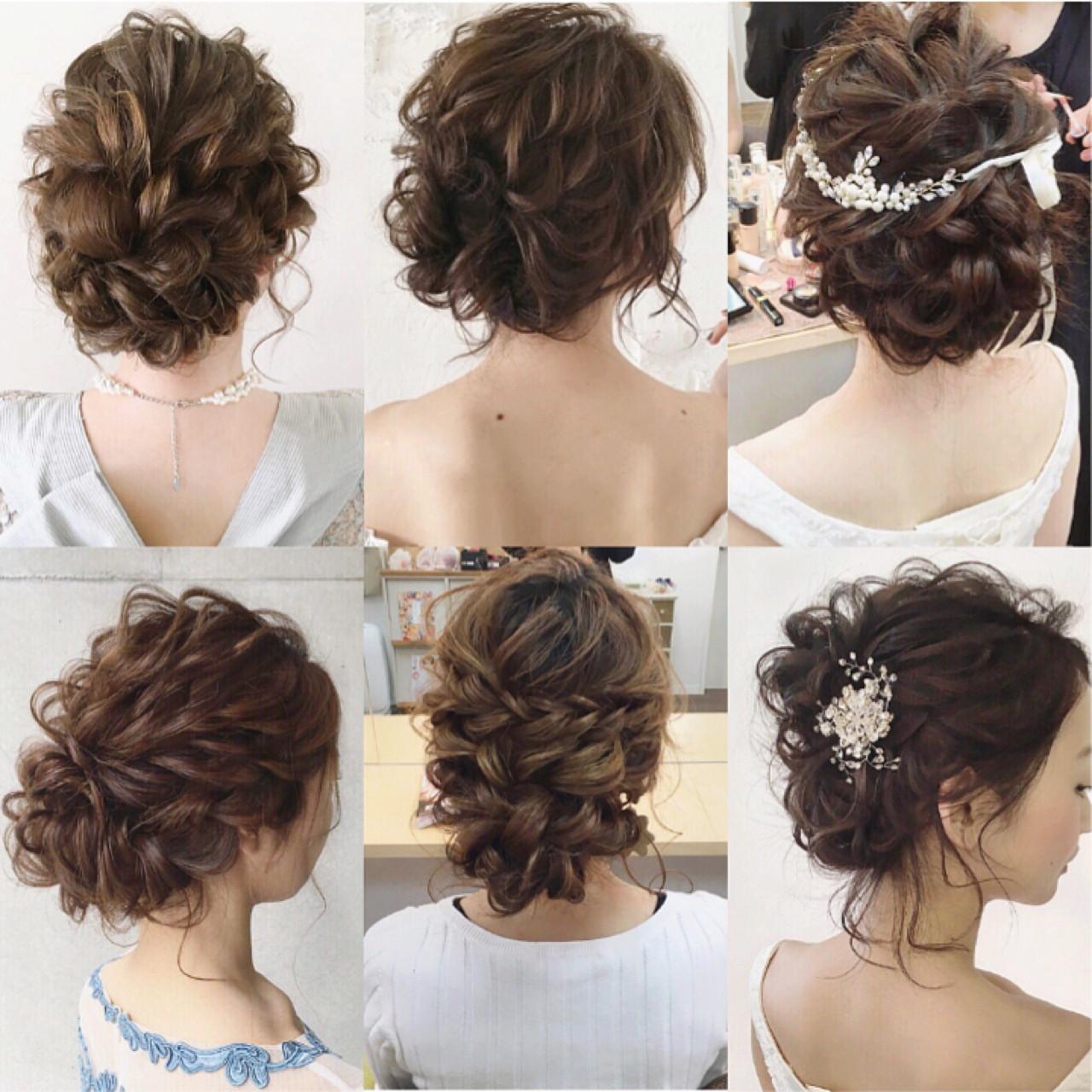 大人かわいい 上品 大人女子 ナチュラル ヘアスタイルや髪型の写真・画像 | tomoya tamada / Bridal hairmake