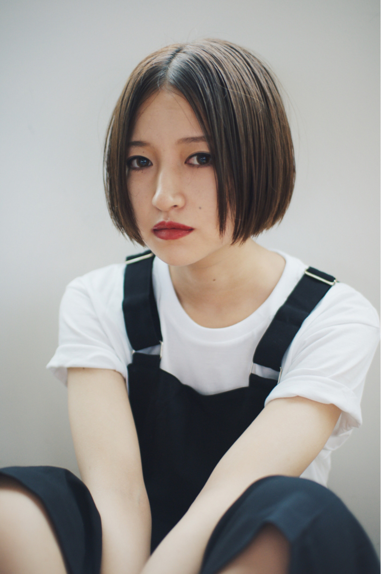 外国人風 ボブ 色気 アッシュ ヘアスタイルや髪型の写真・画像 | 金子大企 / HOMIE TOKYO