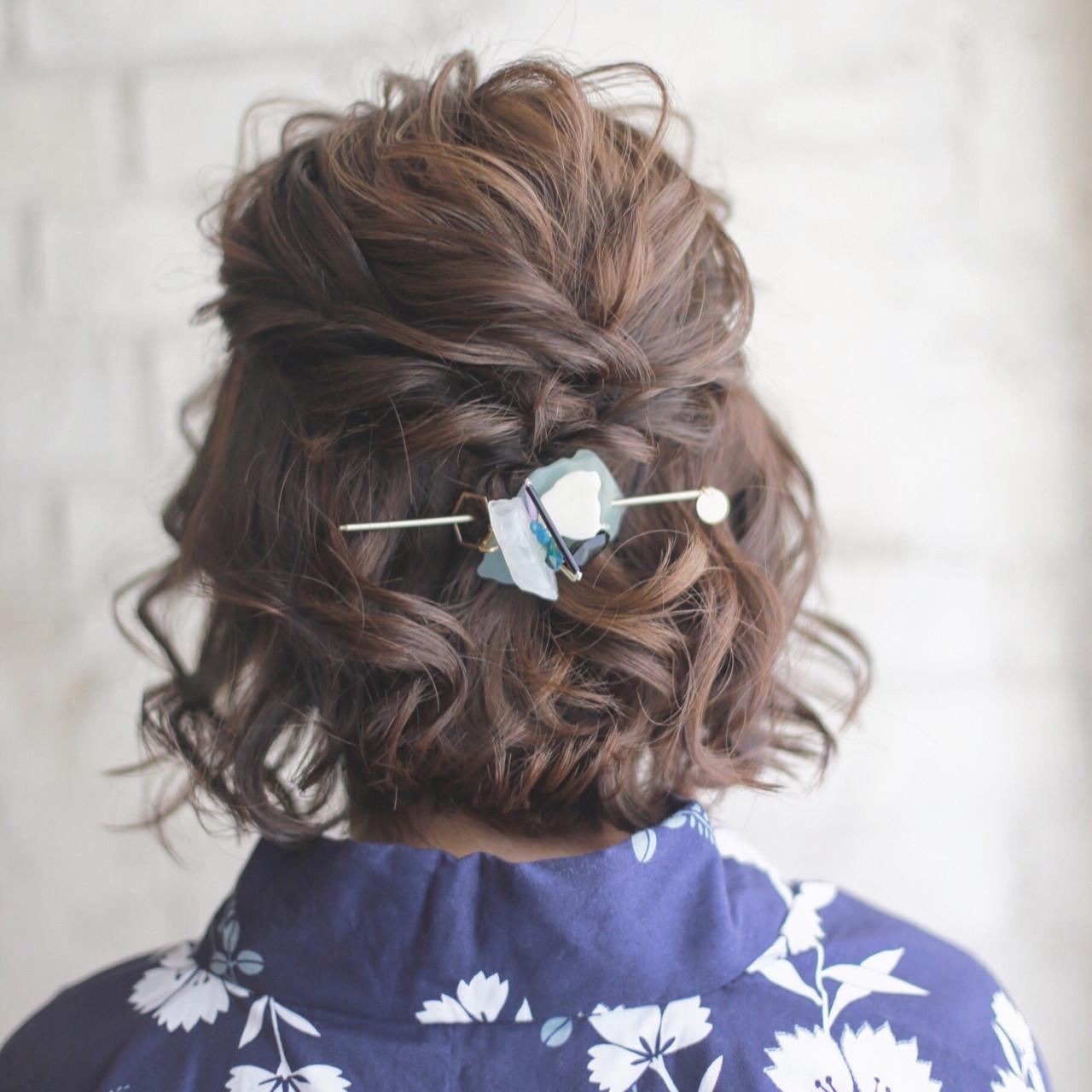 ハイライト ショート ヘアアレンジ 夏 ヘアスタイルや髪型の写真・画像 | 谷本将太 nalu hair / nalu hair  (ナルーヘアー)