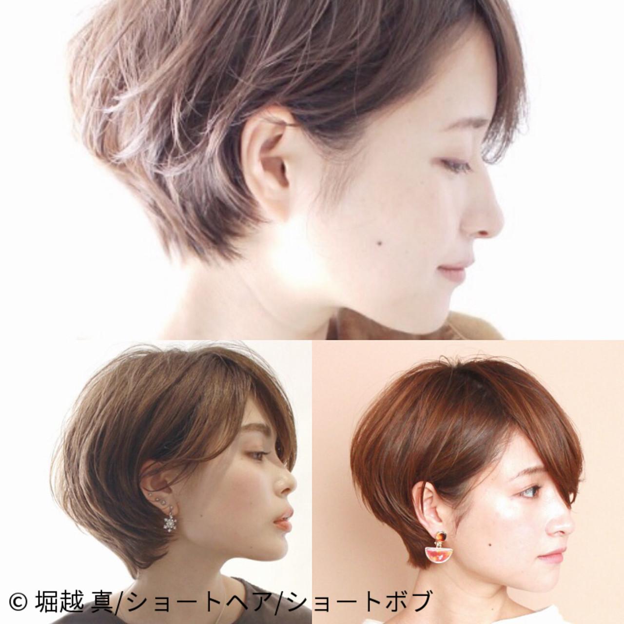 ショート マッシュショート ナチュラル ふんわりショート ヘアスタイルや髪型の写真・画像