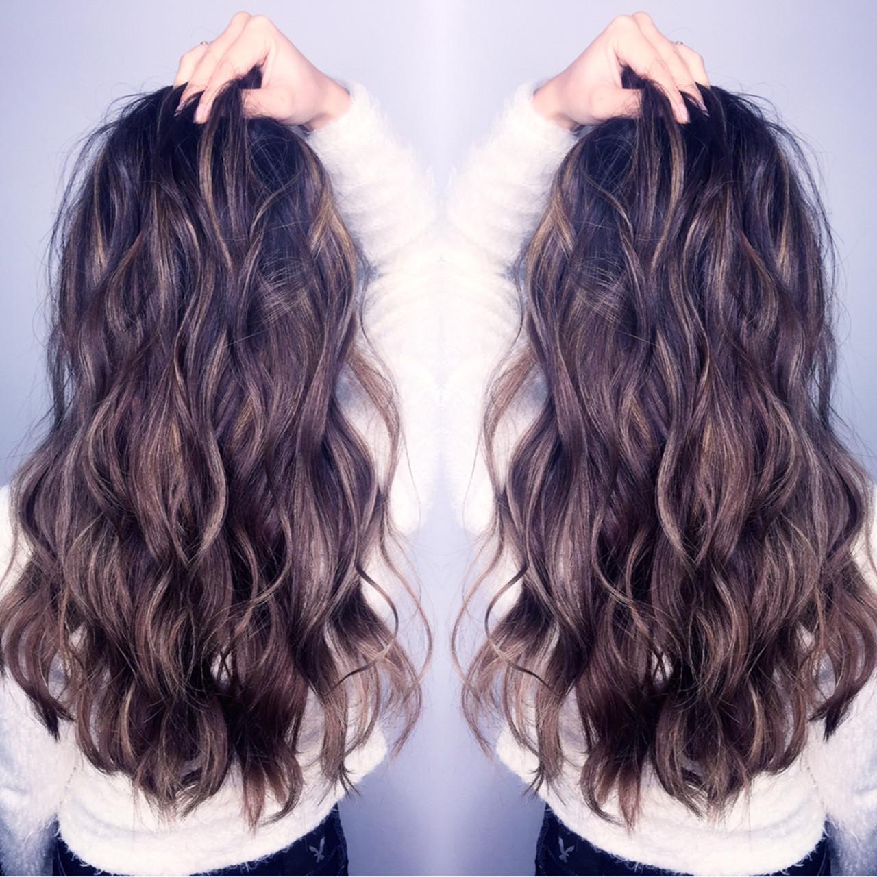 グラデーションカラー コンサバ 外国人風 ハイライト ヘアスタイルや髪型の写真・画像   筒井 隆由 / Hair salon mode