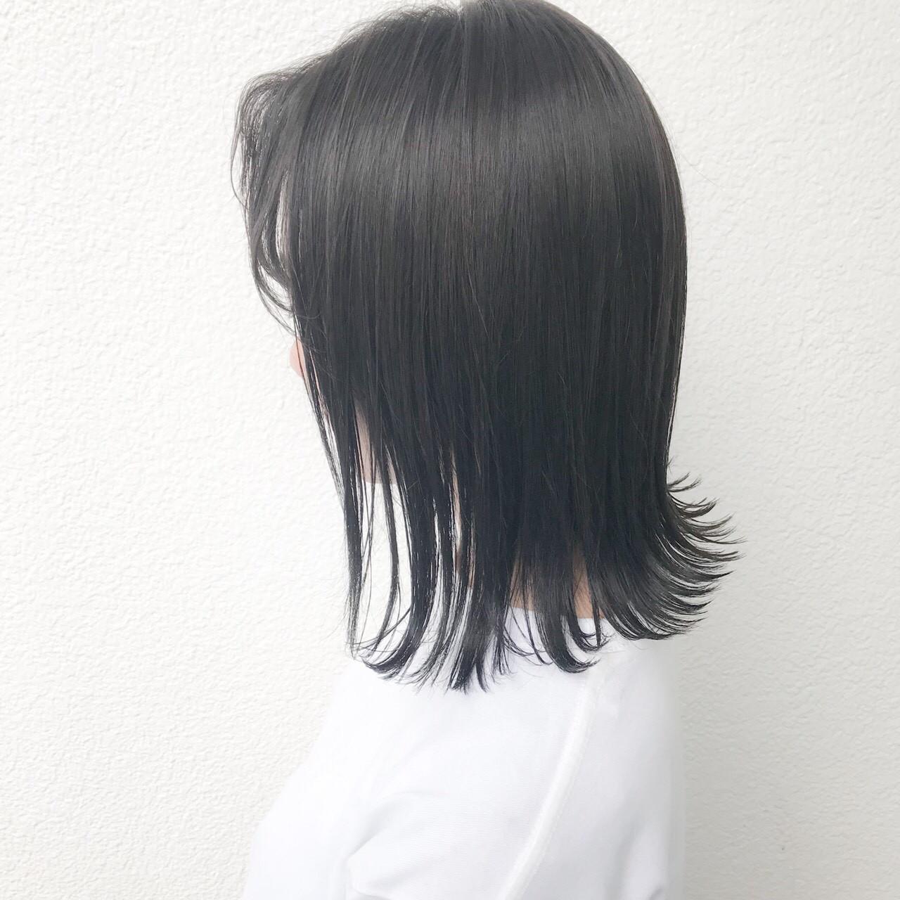 ナチュラル 外国人風カラー ボブ アッシュ ヘアスタイルや髪型の写真・画像