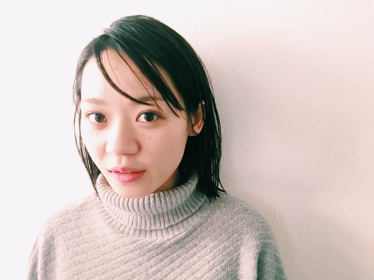 ナチュラル アッシュ 暗髪 透明感 ヘアスタイルや髪型の写真・画像 | 長 賢太郎 / ky-go