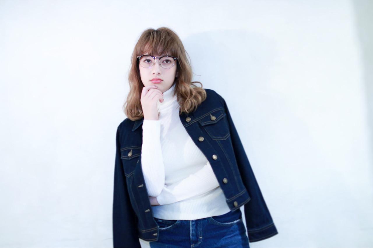 アンニュイ 秋 ガーリー パーマ ヘアスタイルや髪型の写真・画像