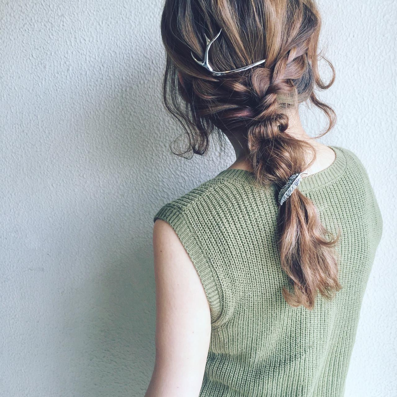 ヘアアレンジ モード アッシュ かっこいい ヘアスタイルや髪型の写真・画像