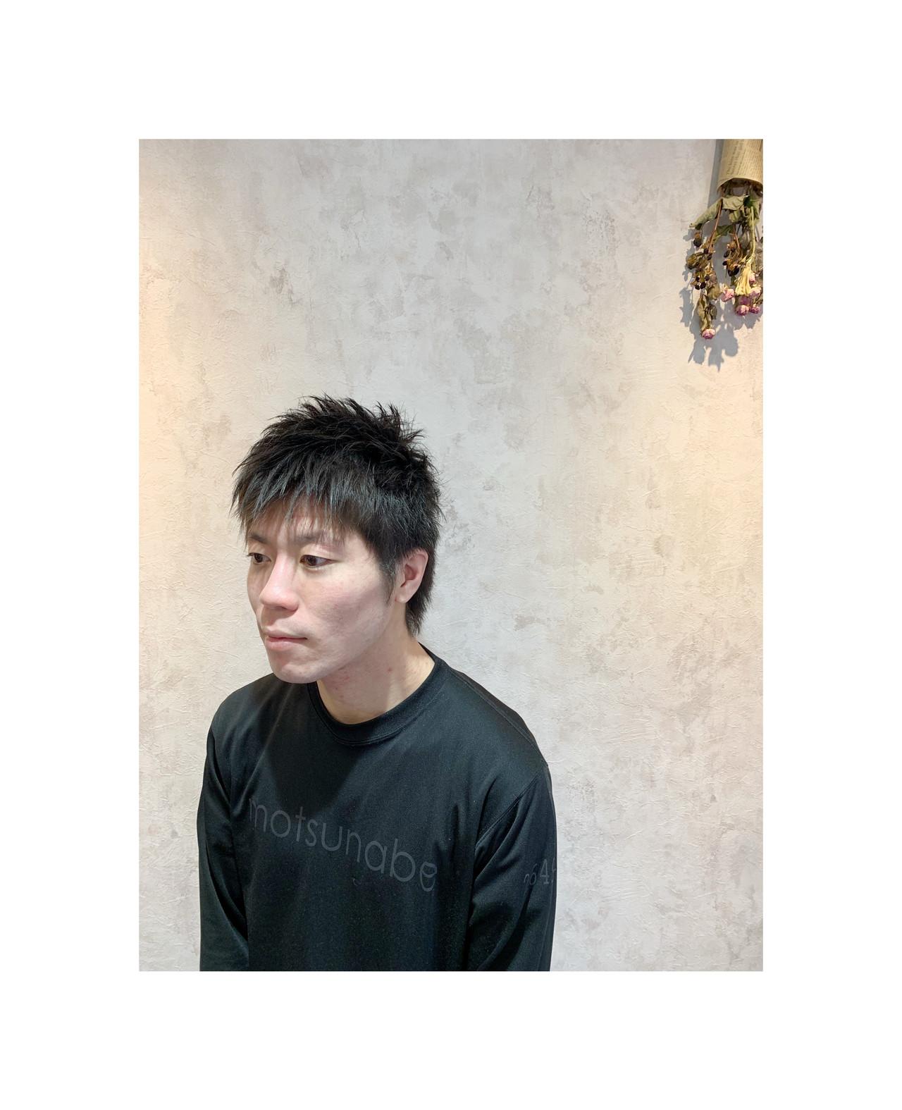 メンズショート メンズ メンズヘア ショート ヘアスタイルや髪型の写真・画像 | 角谷 崇 / hair  Cou Cou