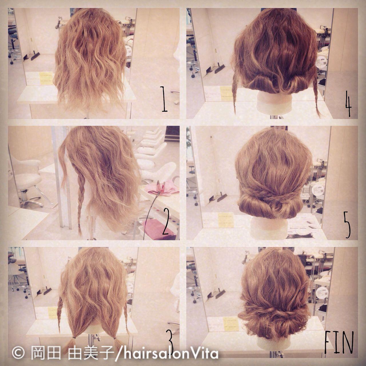 ヘアアレンジ 大人かわいい 簡単ヘアアレンジ ゆるふわ ヘアスタイルや髪型の写真・画像 | yumiko/sapporoSKNOW / SKNOW
