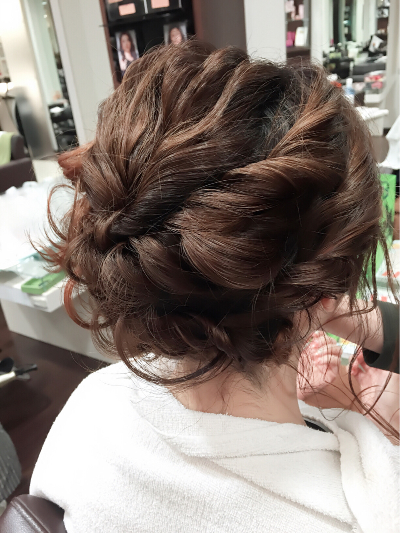フェミニン ショート ボブ ゆるふわ ヘアスタイルや髪型の写真・画像   稲野 剛 / pikaichi 熊本上通り店