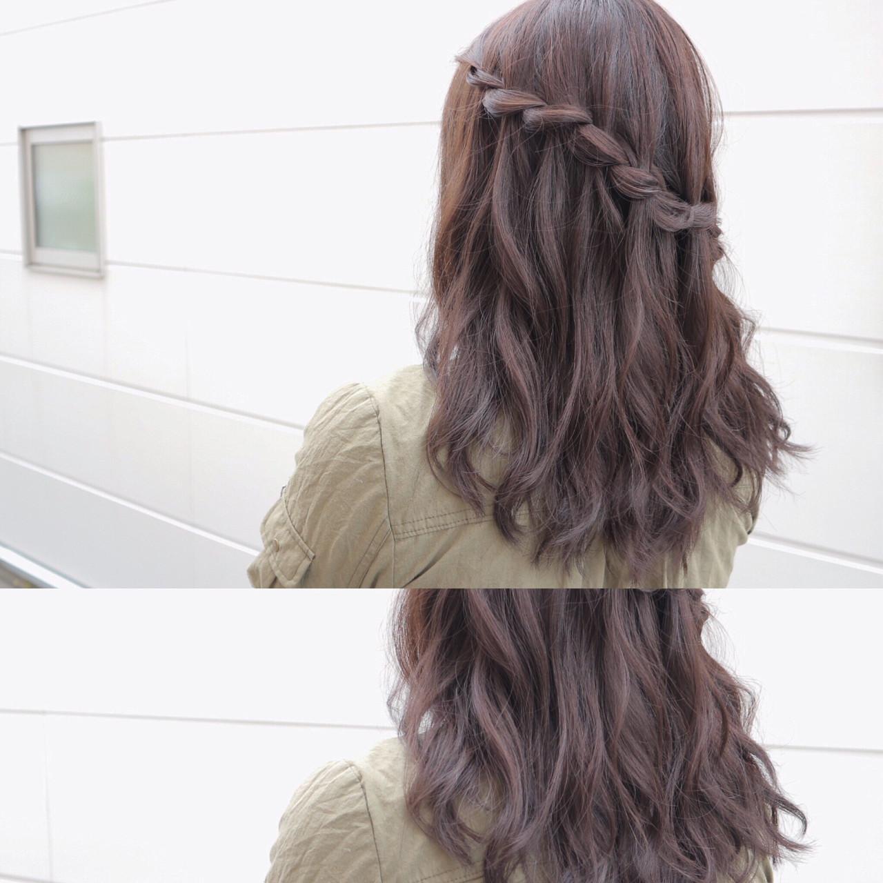 意外と簡単!?ウォーターフォールのヘアアレンジ◎簡単にできるやり方 ryota kuwamura | 函館/CALIF hair store/キャリフ ヘアストア
