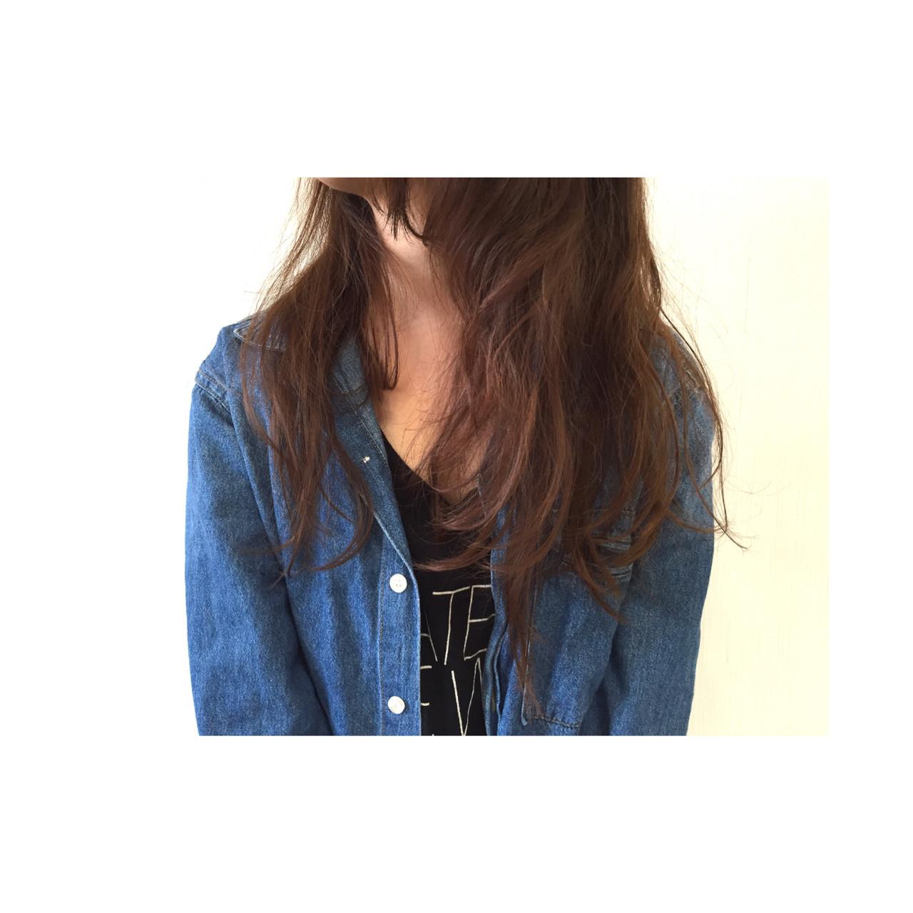 かっこいい ロング パーマ 外国人風 ヘアスタイルや髪型の写真・画像
