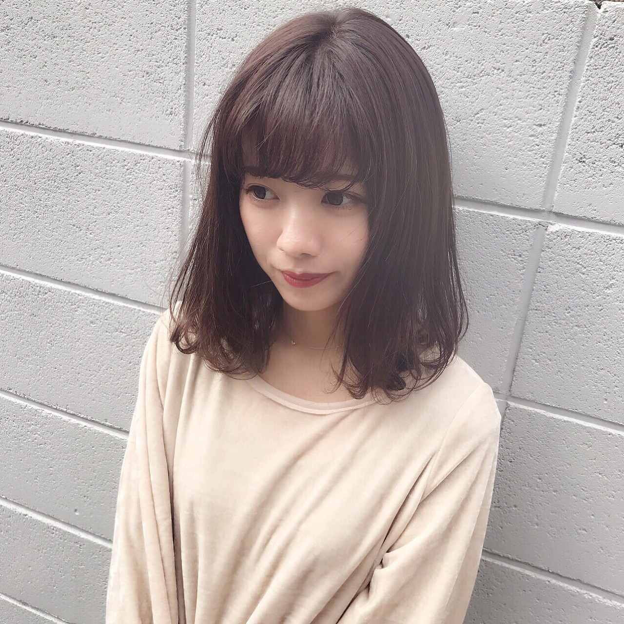 ハイライト ミディアム ガーリー ショート ヘアスタイルや髪型の写真・画像