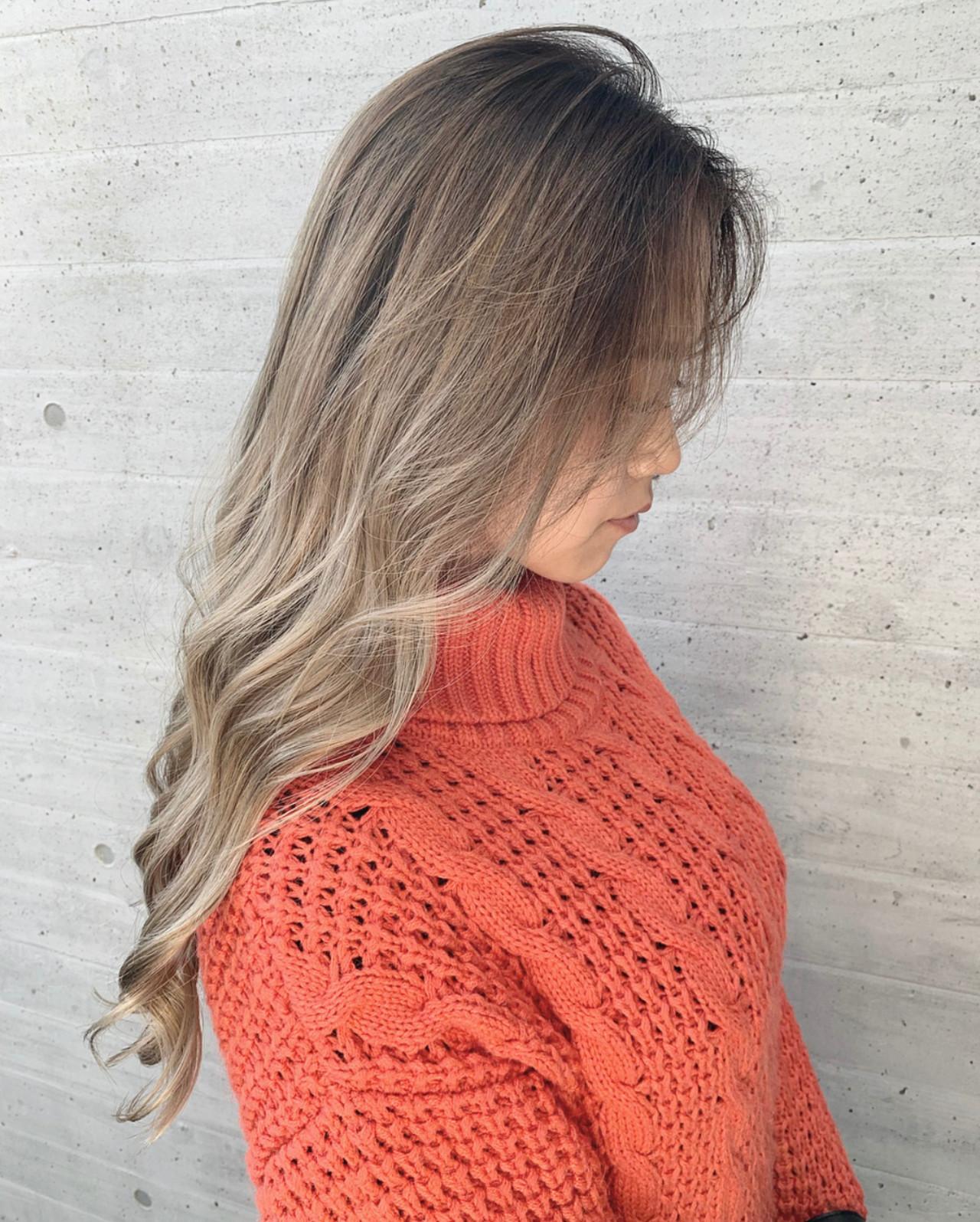 ロング ストリート 西海岸風 ブロンド ヘアスタイルや髪型の写真・画像 | 谷島 瑠伊 / ALIVE omotesando