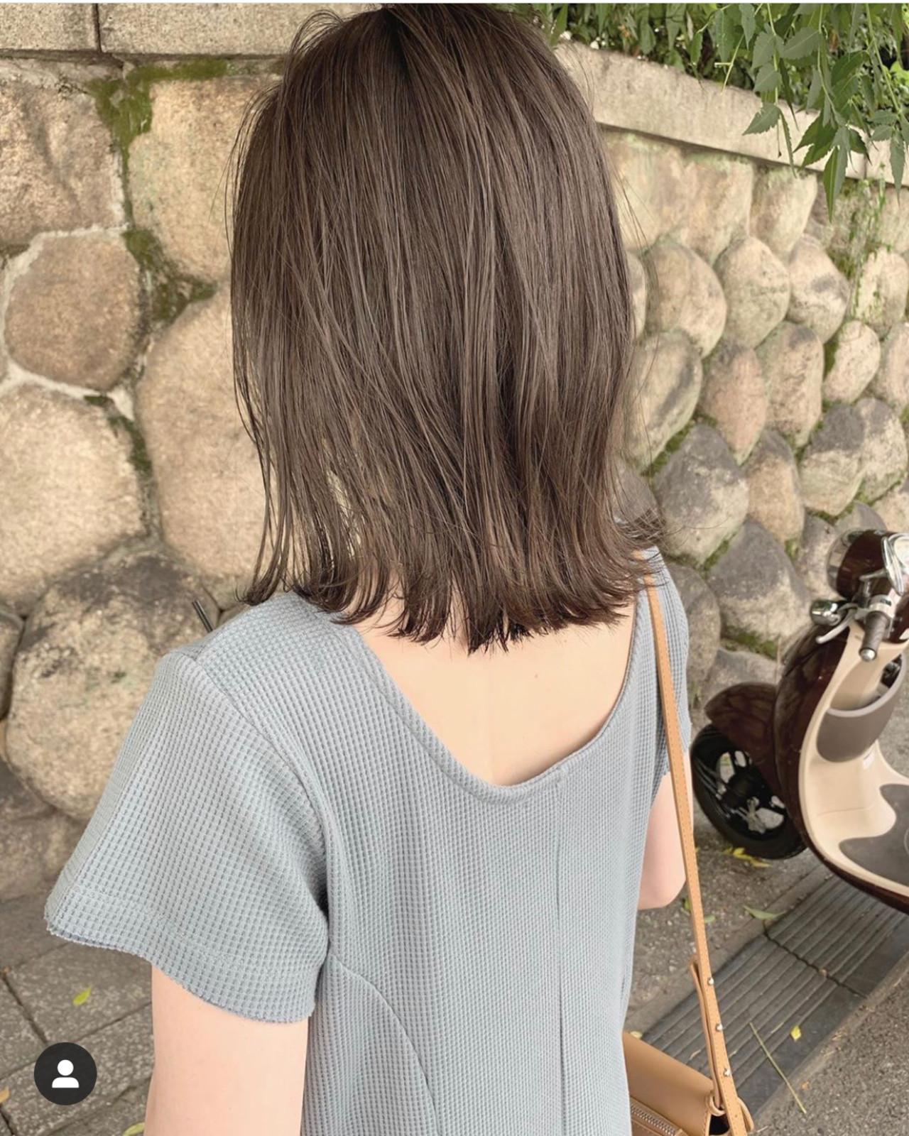 ミニボブ 切りっぱなしボブ ショートヘア ショートボブ ヘアスタイルや髪型の写真・画像 | KENTO.NOESALON / NOE SALON