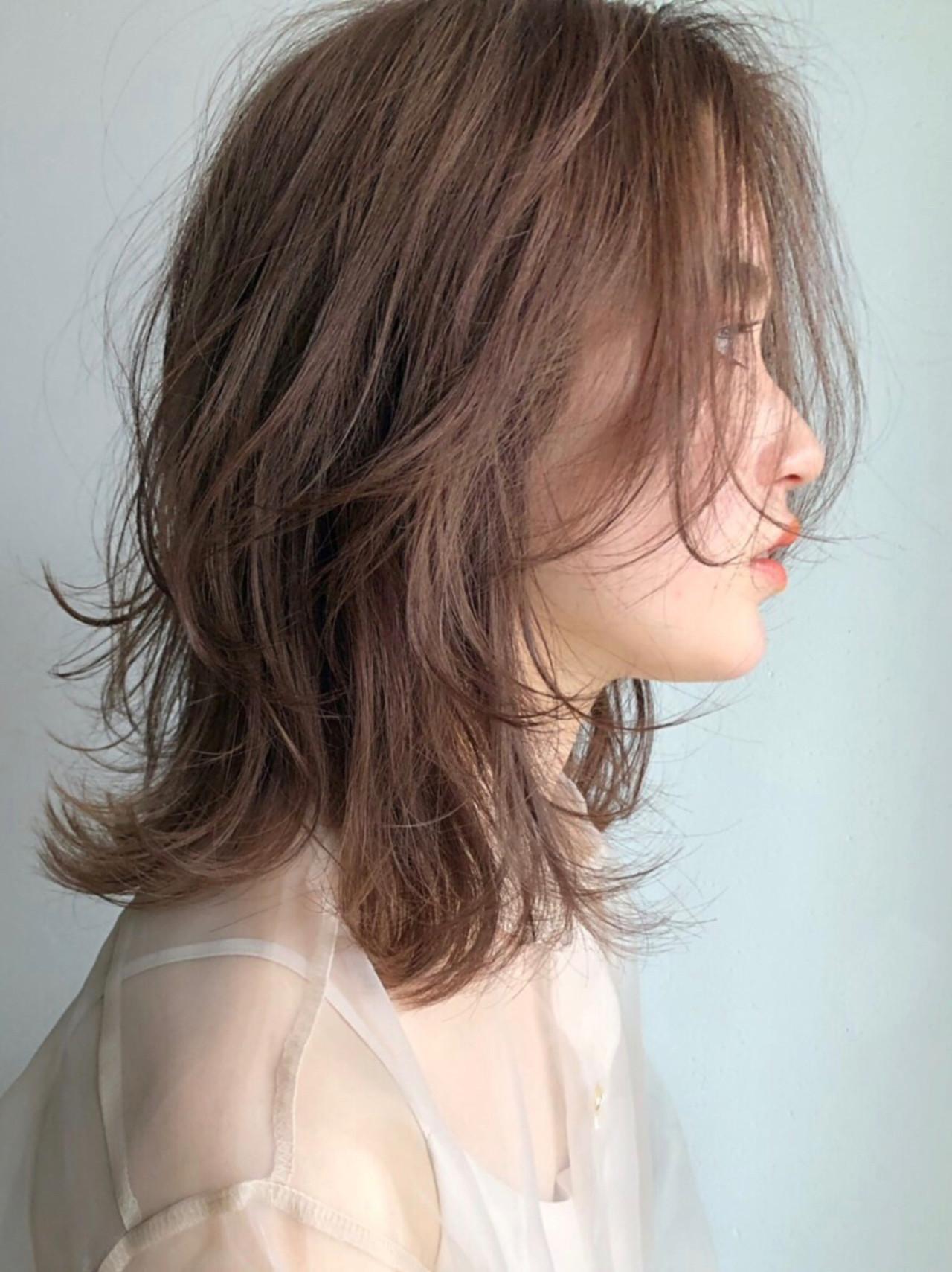 ナチュラル ミディアム デート アウトドア ヘアスタイルや髪型の写真・画像 | NAVY chums 久留米 / NAVY