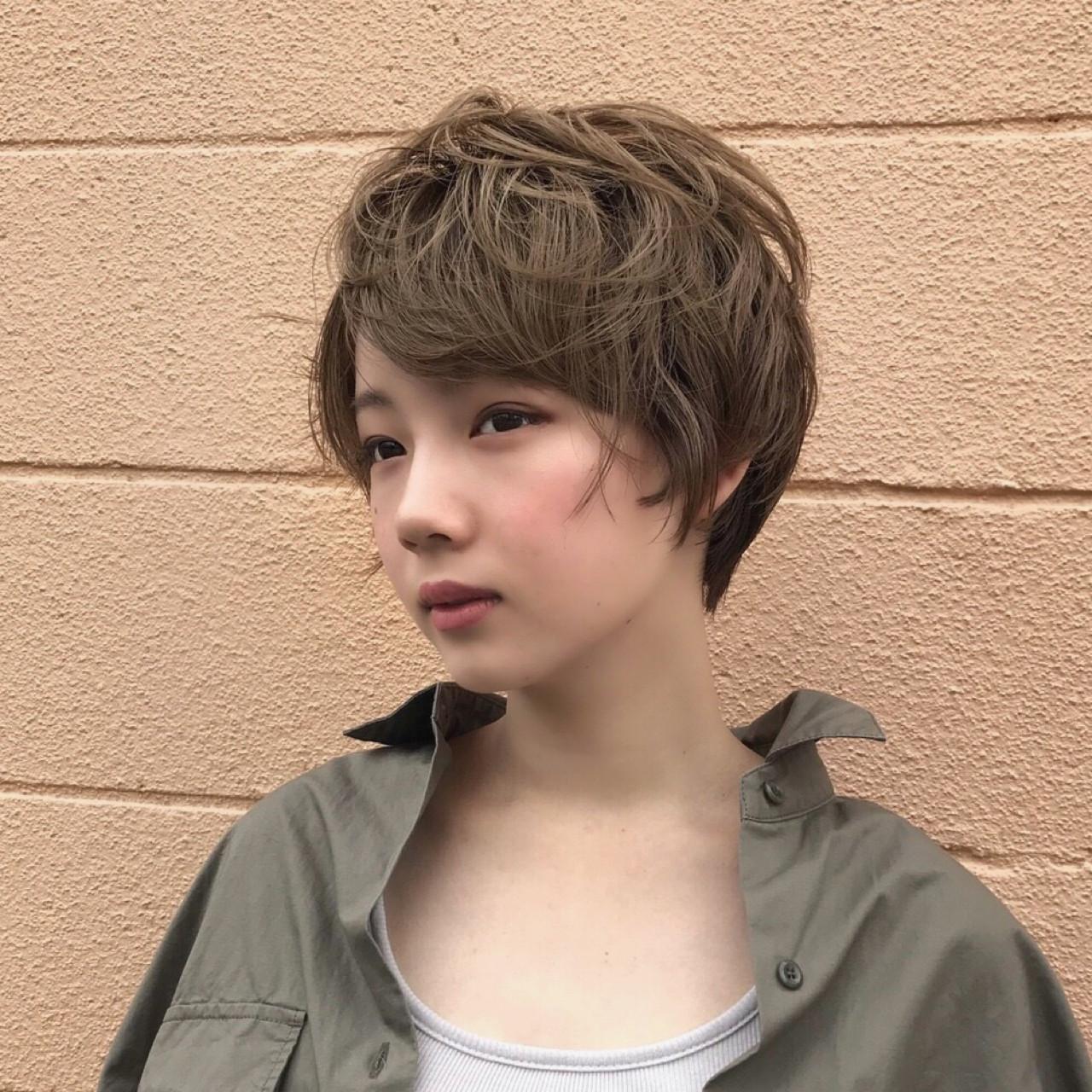 くせ毛におすすめなショートスタイル