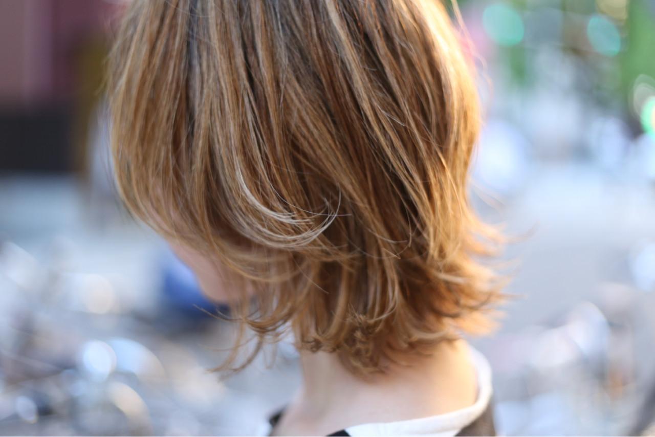 デート ヘアアレンジ オフィス ミディアム ヘアスタイルや髪型の写真・画像