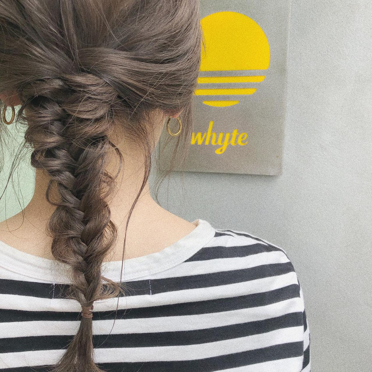 大人かわいい セミロング ゆるふわ ガーリー ヘアスタイルや髪型の写真・画像 | 中島 潮里 / whyte / whyte