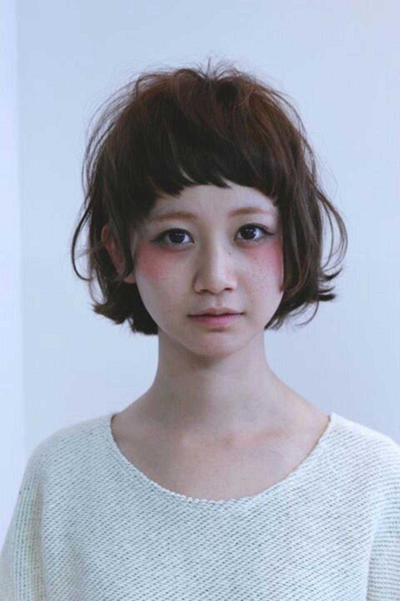ナチュラル 大人かわいい ショート 卵型 ヘアスタイルや髪型の写真・画像   西尾 隆介 / Labyrinth