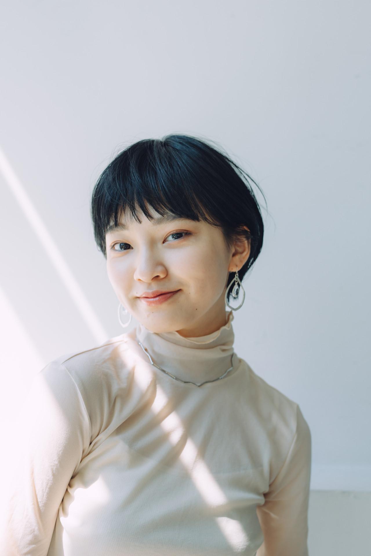 ハンサムショート ショートボブ ナチュラル ショート ヘアスタイルや髪型の写真・画像 | 児玉善央 / GARDEN harajuku