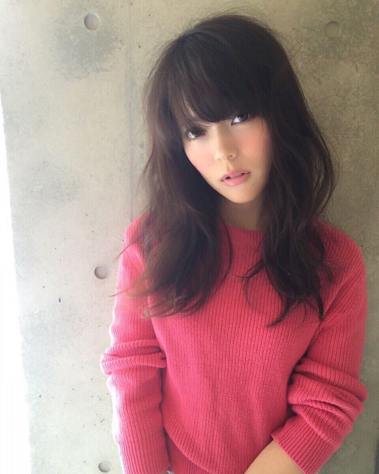 ロング コンサバ 愛され ゆるふわ ヘアスタイルや髪型の写真・画像 | 山田 あかり /