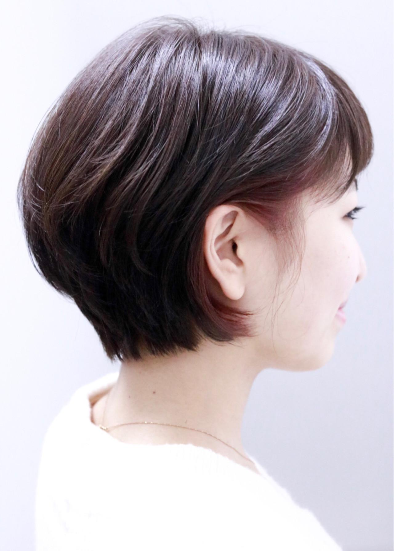 ナチュラル ピンク 小顔 ボブ ヘアスタイルや髪型の写真・画像 | 清水 翔五 / sofa