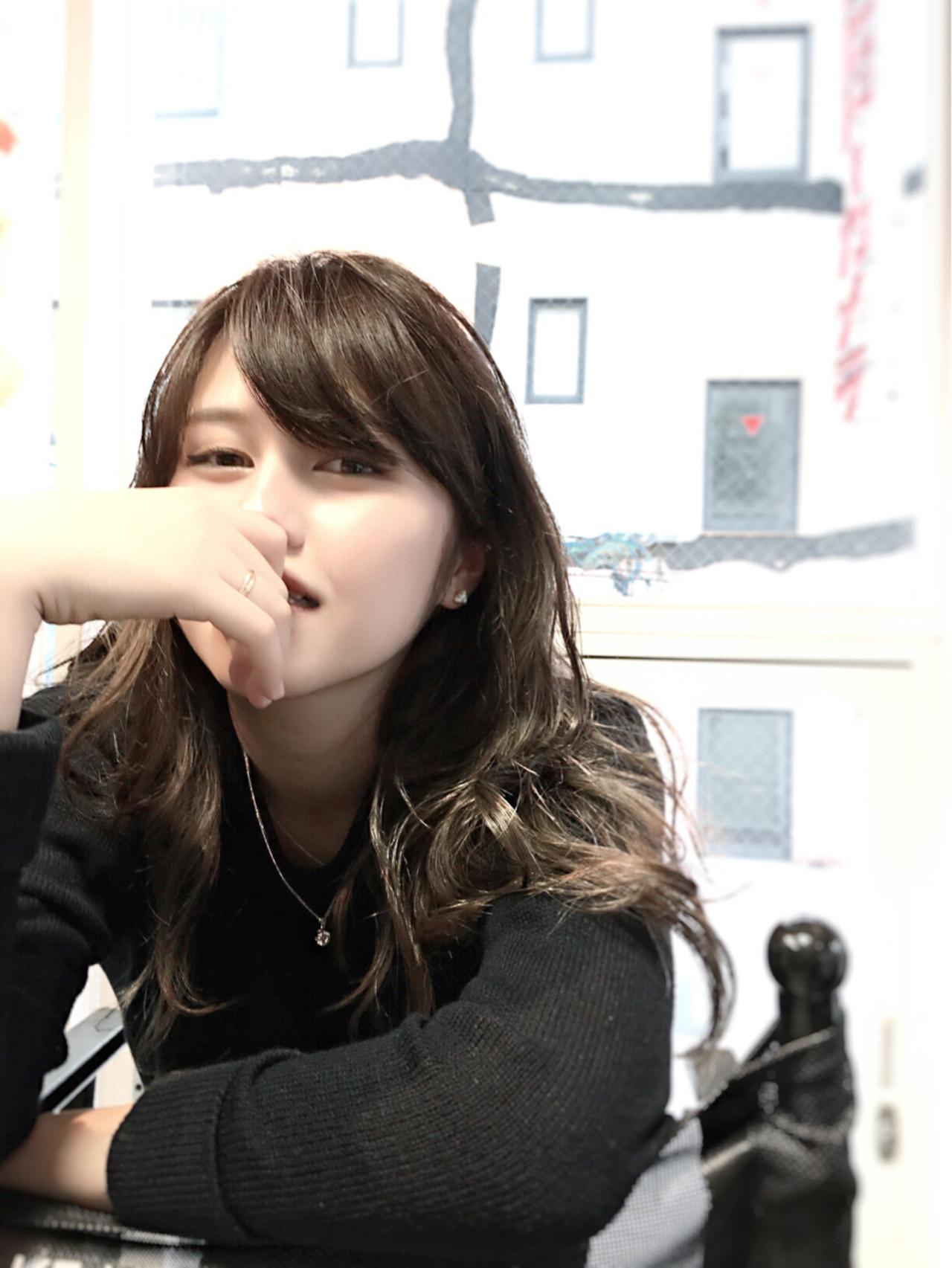 パーマ グレージュ 大人女子 アッシュ ヘアスタイルや髪型の写真・画像   カラーリスト・YuuKi Sekimoto / wherever