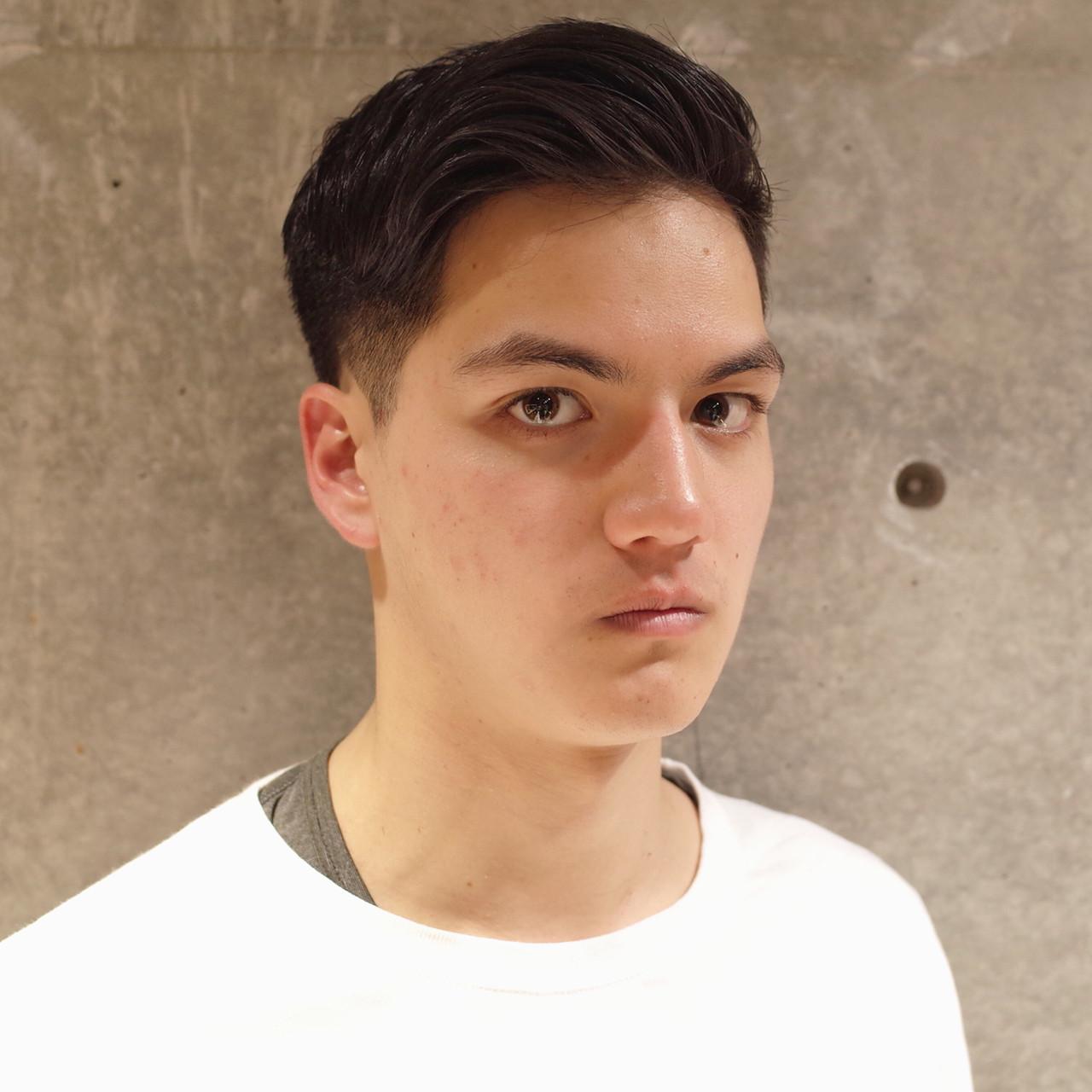 ツーブロック メンズショート 刈り上げ ショート ヘアスタイルや髪型の写真・画像
