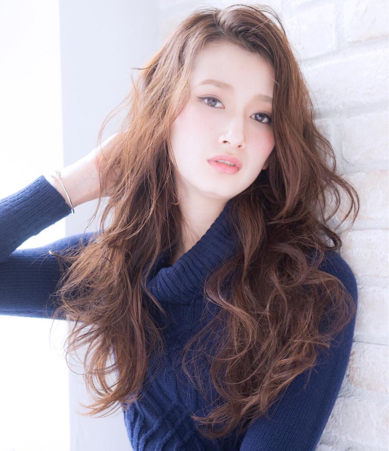 フェミニン ナチュラル 大人女子 ロング ヘアスタイルや髪型の写真・画像 | 柳田恭佑 / BONNY COUTURE ボニークチュール