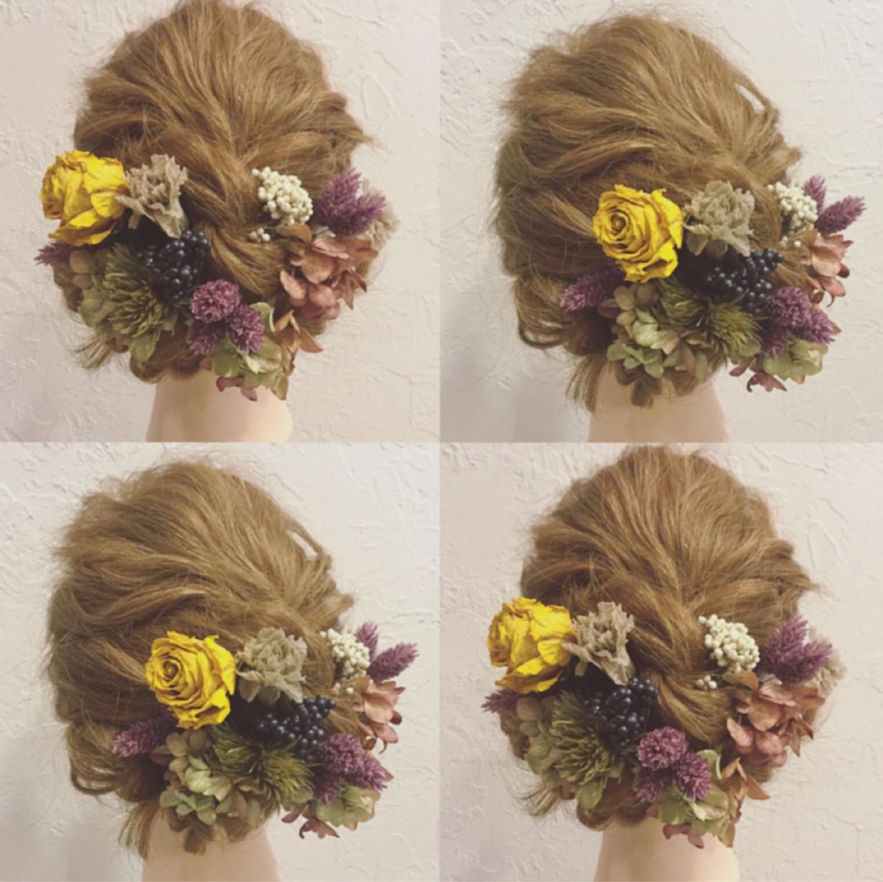 ウエディングドレス向けヘアスタイル♡人生で1番美しい私になれる髪型10選 髙橋 舞