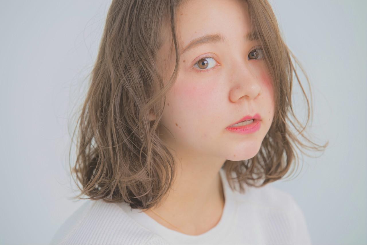 女子会 デート ミディアム タンバルモリ ヘアスタイルや髪型の写真・画像