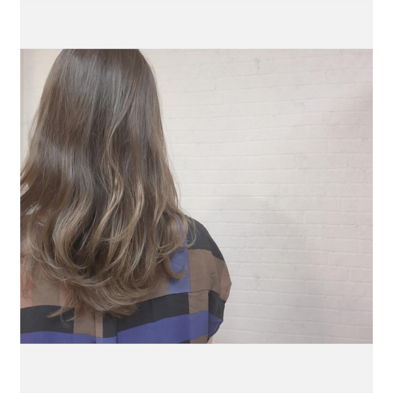 ナチュラル セミロング 外国人風 ゆるふわ ヘアスタイルや髪型の写真・画像