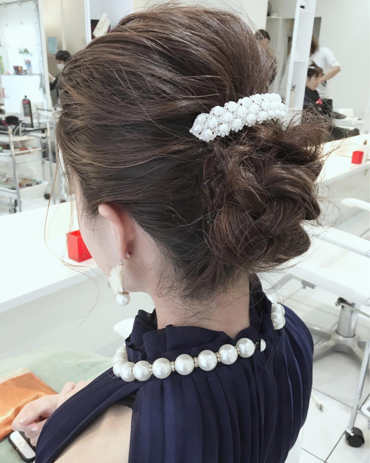 ハーフアップ 大人女子 簡単ヘアアレンジ 編み込み ヘアスタイルや髪型の写真・画像 | 石田裕紀 / Baroque 立川 newtonグループ