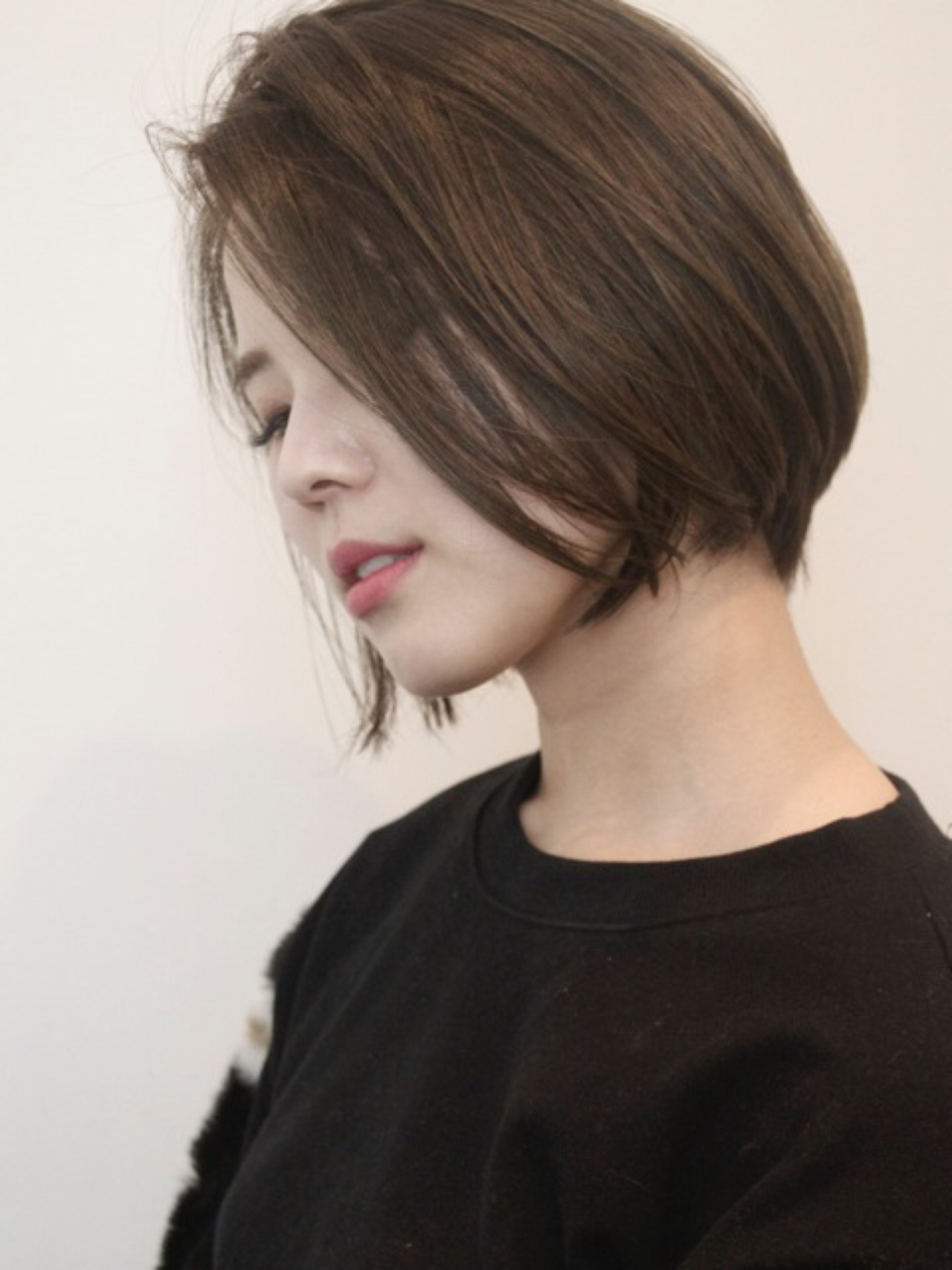 色気 小顔 ニュアンス こなれ感 ヘアスタイルや髪型の写真・画像