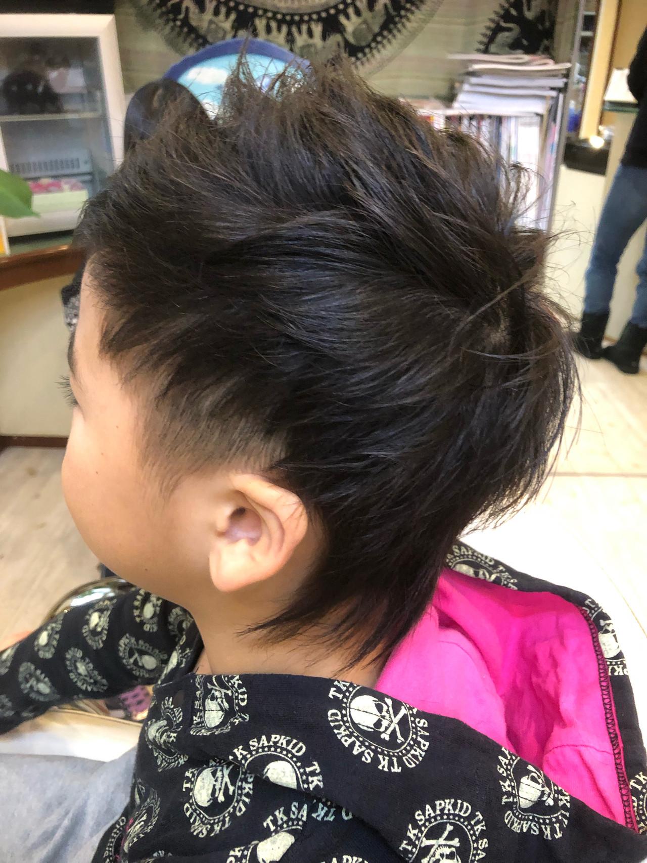ショート ストリート 坊主 ウルフカット ヘアスタイルや髪型の写真・画像