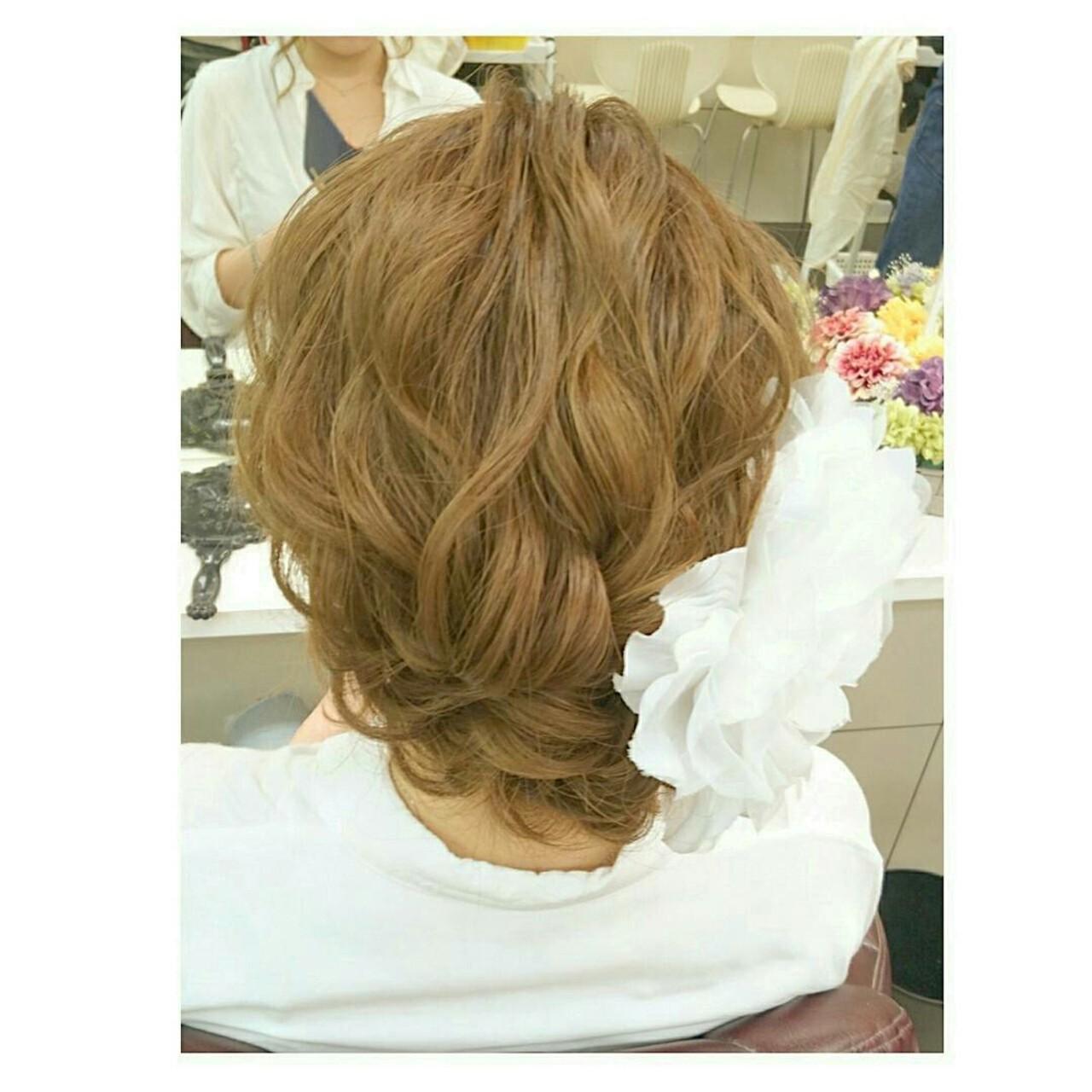 ウェーブ 涼しげ セミロング 色気 ヘアスタイルや髪型の写真・画像