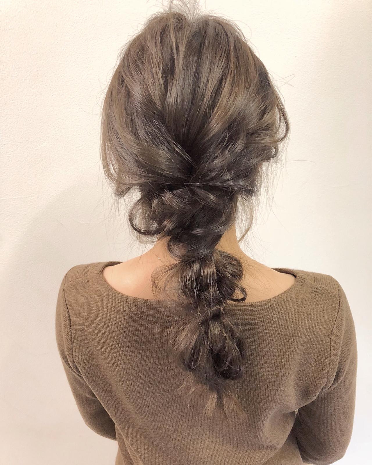 ヘアアレンジ デート 結婚式 ロング ヘアスタイルや髪型の写真・画像