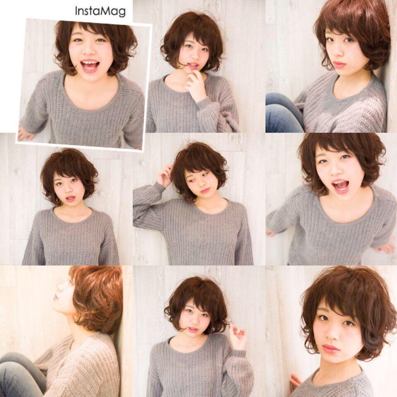 ショート ストリート ガーリー ヘアスタイルや髪型の写真・画像   中村 猛 / MODE K's 塚本店 (モードケイズ)