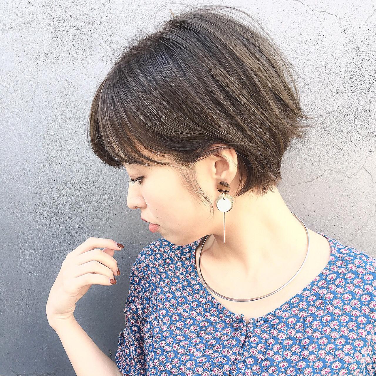 ヘアアレンジ こなれ感 ショート ナチュラル ヘアスタイルや髪型の写真・画像 | ショートボブの匠【 山内大成 】『i.hair』 / 『 i. 』 omotesando
