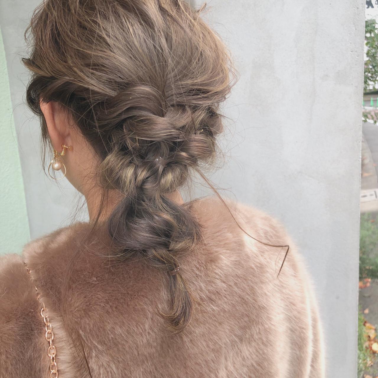 デート ヘアアレンジ スポーツ ガーリー ヘアスタイルや髪型の写真・画像