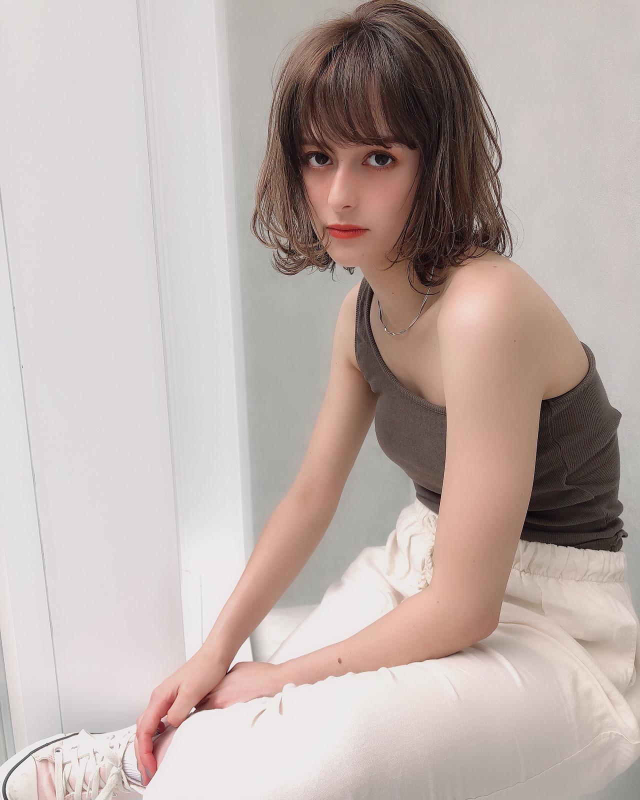 簡単ヘアアレンジ デート 成人式 ボブ ヘアスタイルや髪型の写真・画像 | 北村 亮 / Lano by HAIR