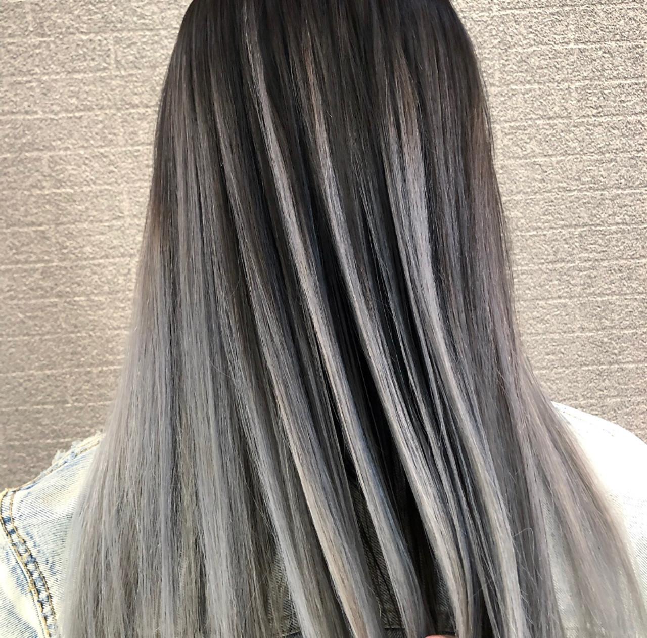 デート ロング 外国人風 外国人風カラー ヘアスタイルや髪型の写真・画像 | アンドウ ユウ / agu hair edge