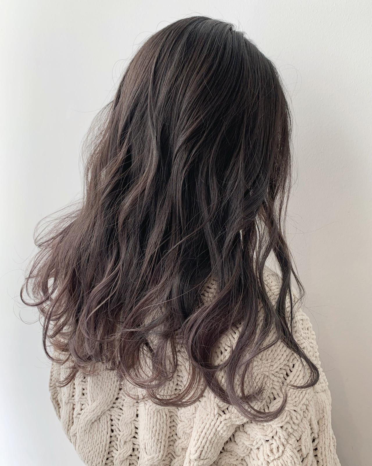 アッシュグレージュ モテ髪 グレージュ 透明感カラー ヘアスタイルや髪型の写真・画像   ALIVE【阿部 圭悟】 / ALIVE