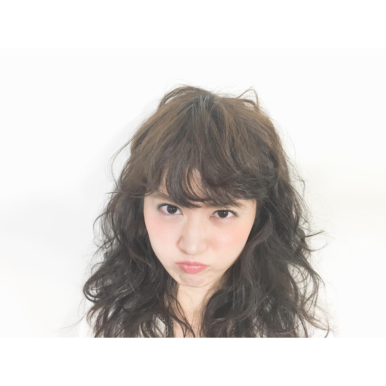 前髪あり ナチュラル 外国人風 フェミニン ヘアスタイルや髪型の写真・画像 | 相田 一樹 / HAIR&MAKE EARTH