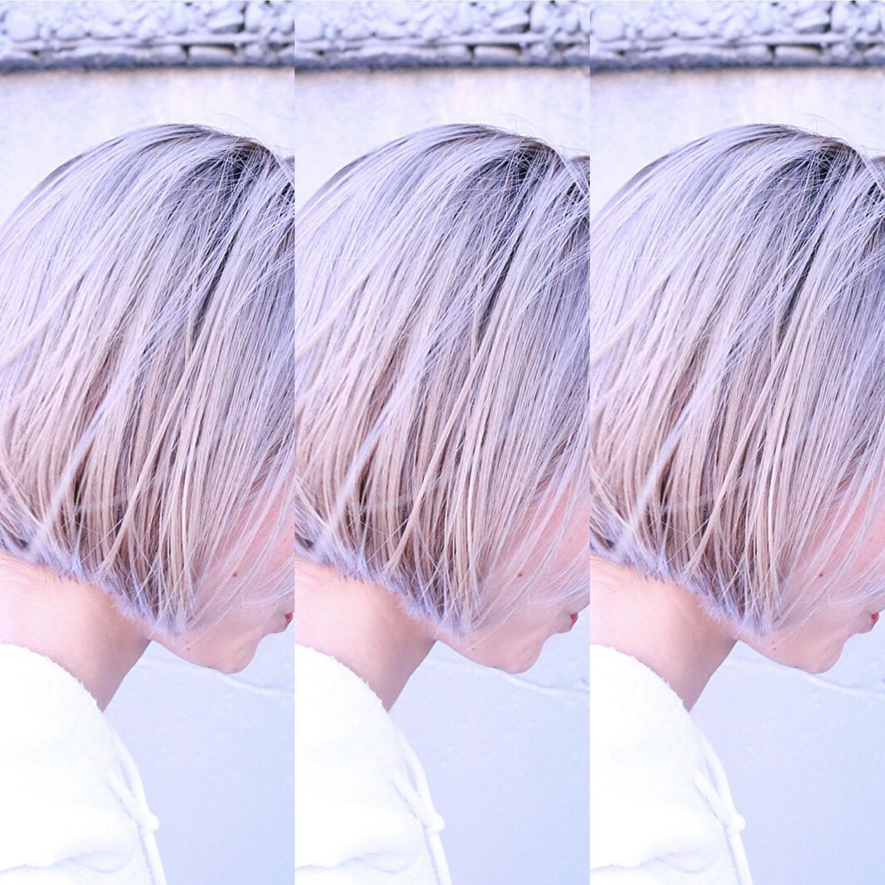 バレイヤージュ ユニコーンカラー グラデーションカラー ハイライト ヘアスタイルや髪型の写真・画像 | RUMINA //高田ゆみこ / Rumina